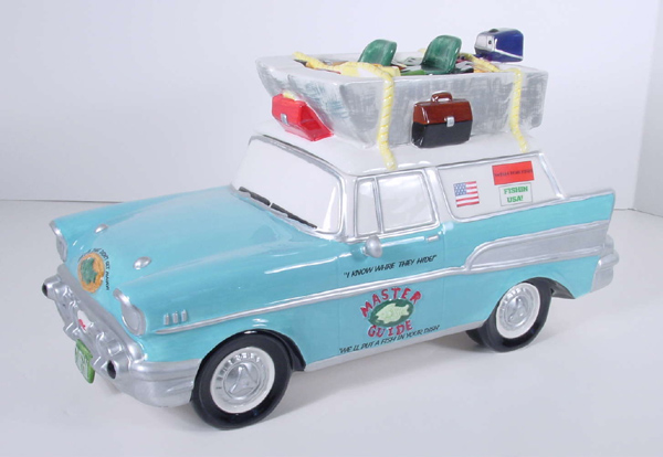 Cars, Trucks and Motorcycle Cookie Jars