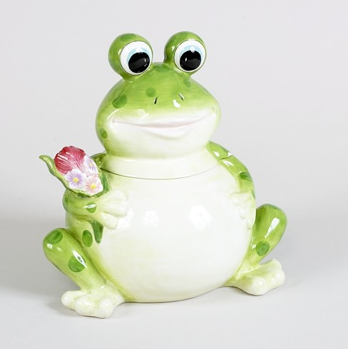 Fish, Turtles and Frogs Cookie Jars