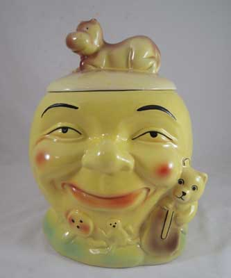 Reproductions of Classic  Cookie Jars