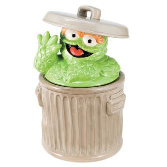 2132042 - Oscar the Grouch Cookie Jar