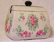 X60750 - Rose Purse Cookie Jar