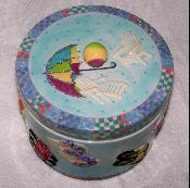 X60753 - Shoe Box Cookie Jar