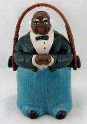 65CJ8737 - Butler Cookie Jar