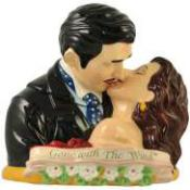 5021915 - Scarlett & Rhrett Kissing Cookie Jar