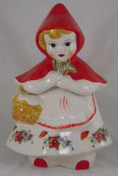 Red Riding Hood Cookie Jar